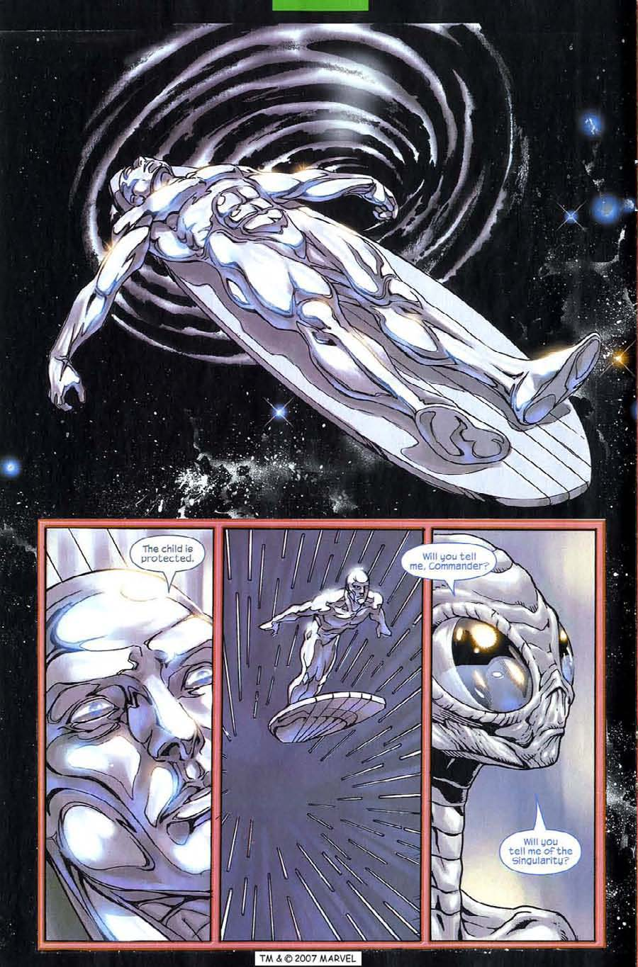Read online Silver Surfer (2003) comic -  Issue #6 - 10