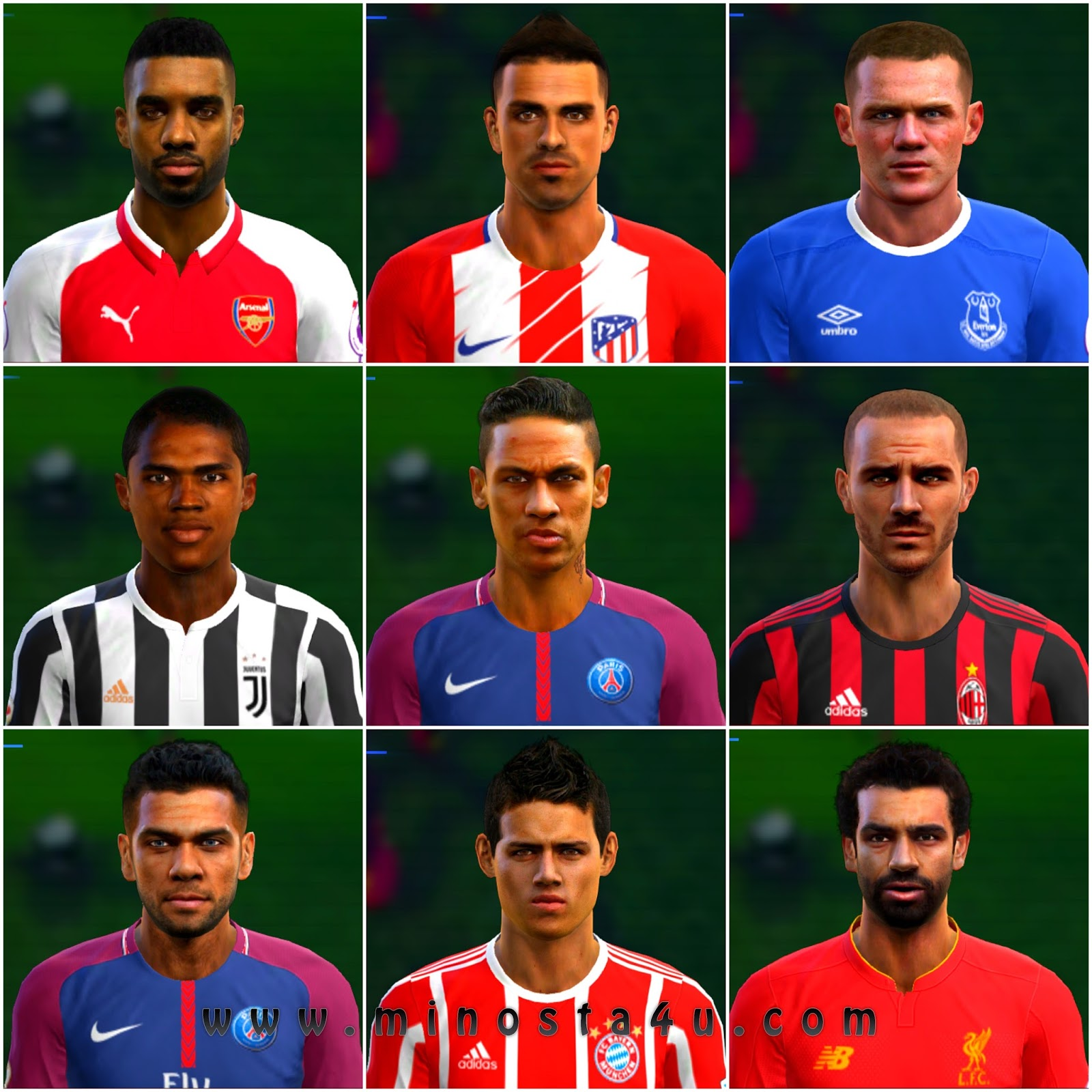 pes 2013 option file update transfers 2017/2018