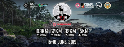 The Moon Koh Phangan Trail run 15-16 June 2019