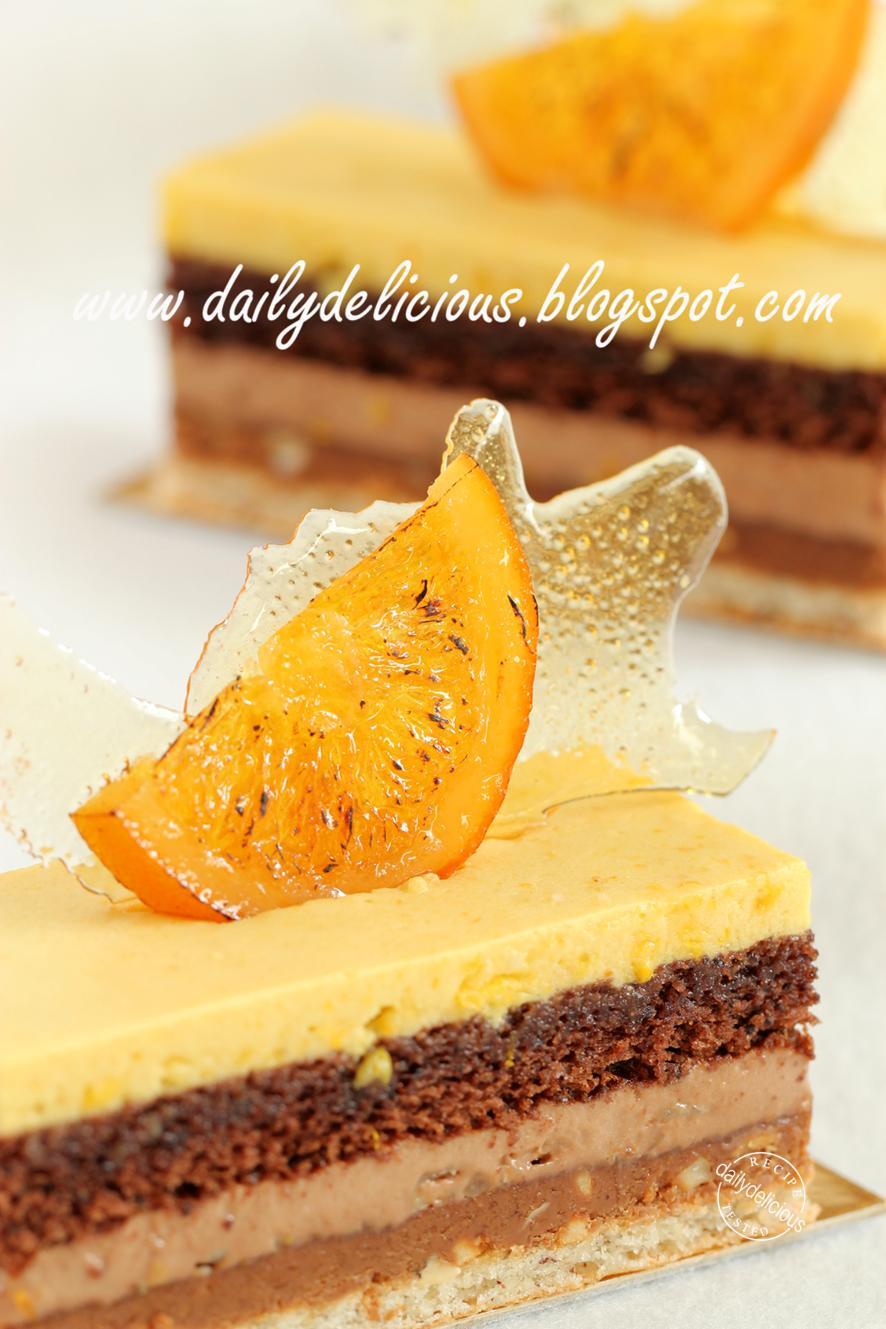 Dailydelicious Valencia Orange Chocolate And Nut