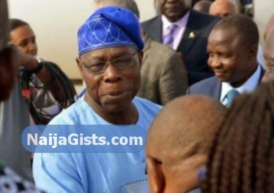 obasanjo speaks son