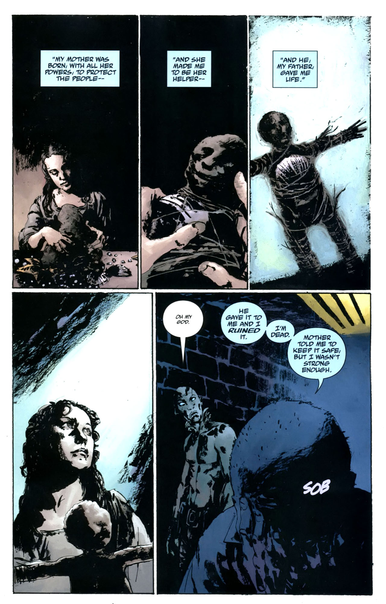 Read online Abe Sapien: The Drowning comic -  Issue #5 - 5