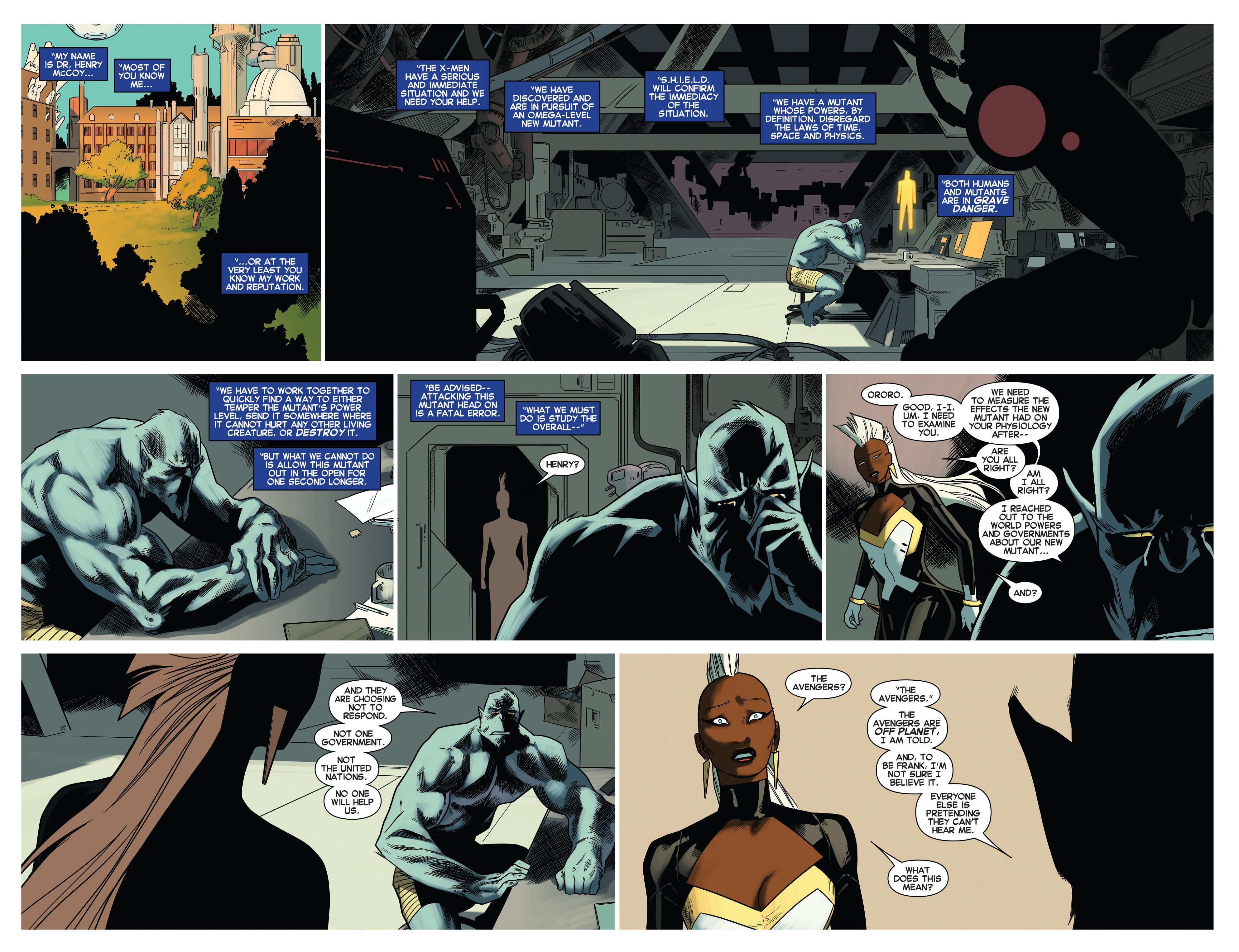 Read online Uncanny X-Men (2013) comic -  Issue # _TPB 5 - The Omega Mutant - 42