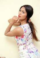 Nishi Gandha in Beautiful Sleeveless Deep neck Short Dress ~  Exclusive 010.jpg