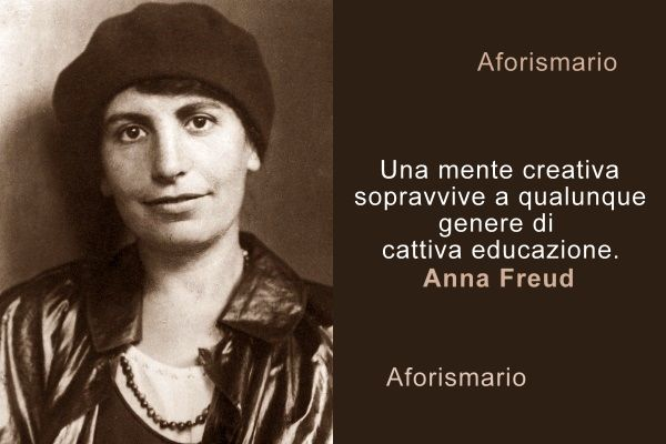 Aforismario Frasi E Citazioni Di Anna Freud
