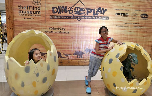 Dino Play by The Mind Museum - Ayala Malls Capitol Central - homeschooling in Bacolod - Bacolod mommy blogger - dinosaur eggs