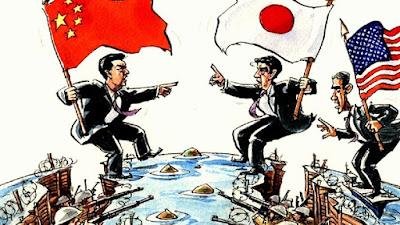 Wuih Karena Jepang Ikut Usik Kawasan Laut China Selatan, China Ancam Perangi Jepang