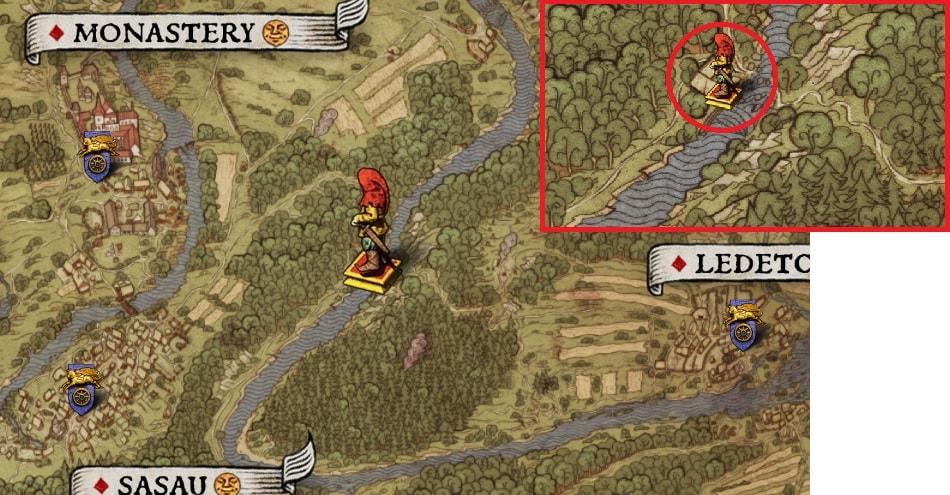 킹덤 컴 보물지도 공략 / 보물 사냥꾼 헨리의 모험 / KCD Treasure Map ...