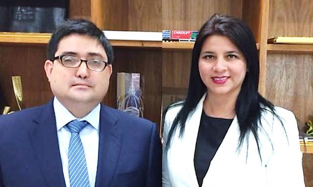 Procuradores, Jorge Ramírez y Silvana Carrión del caso Lava Jato