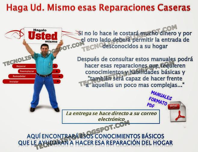 """""""Manual reparaciones caseras"""""""