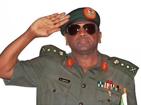 Reuben Abati and Gumsu Daughter of General Sani Abacha Pay Tribute to late Military Head of State