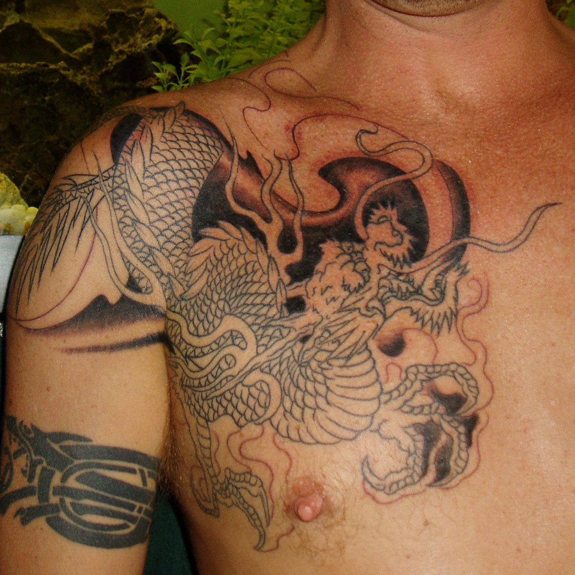Bloodybridge: Free Dragon Tattoos Designs For Men