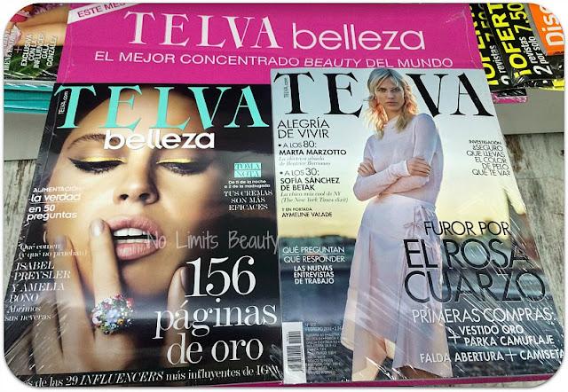 Regalos Revistas Febrero 2016 - Telva