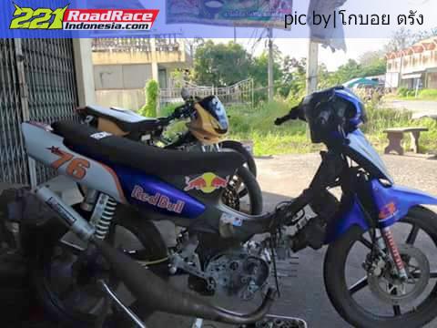 Intip Detail Motor Balap Suzuki Royal Crystal aka Tornado Thailand + Cagiva Stella