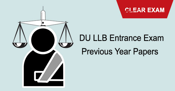 DU.LLB Previous Year Papers