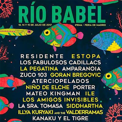 Festival Río Babel Madrid 2017