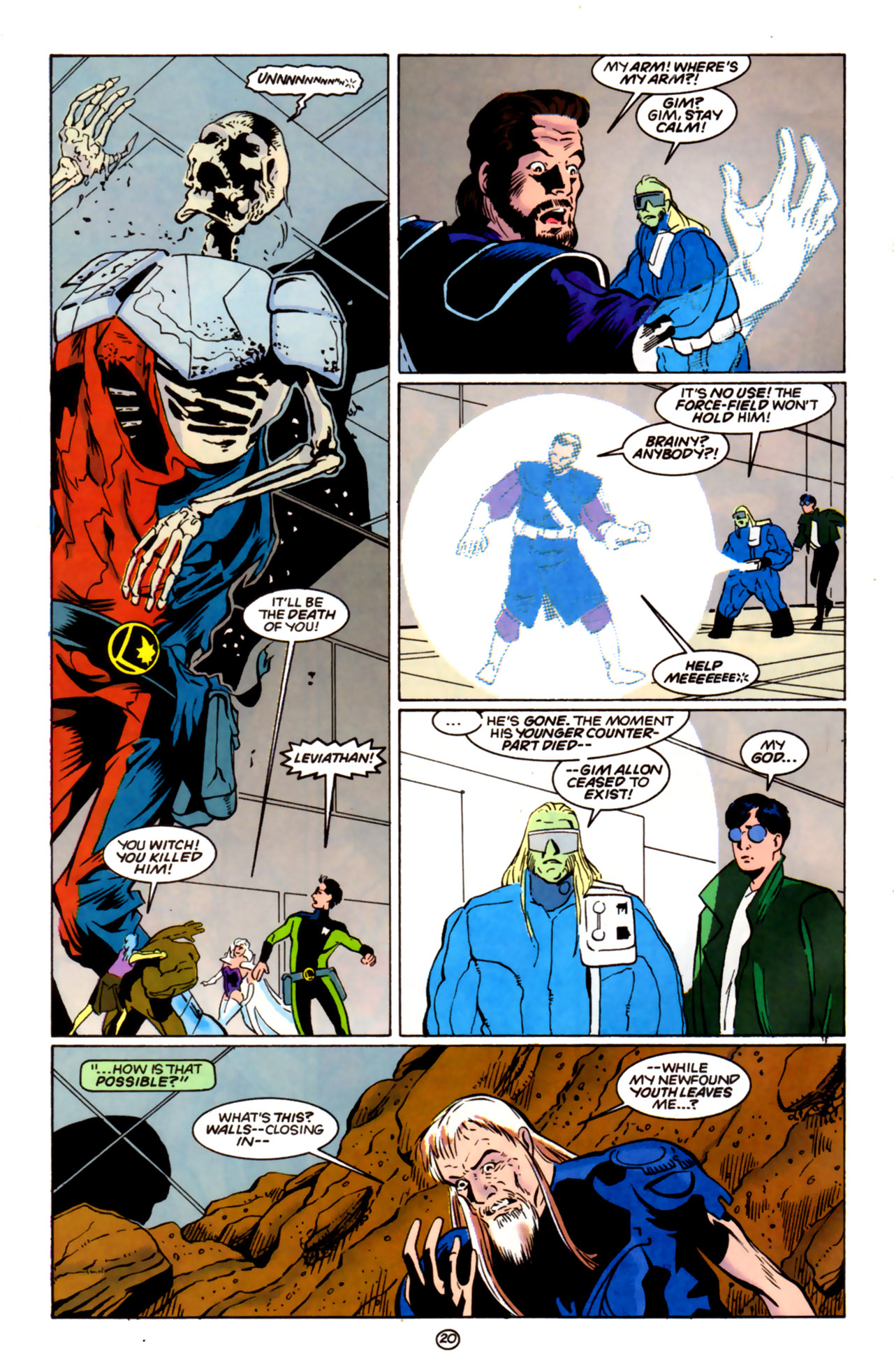 Legion of Super-Heroes (1989) 60 Page 19