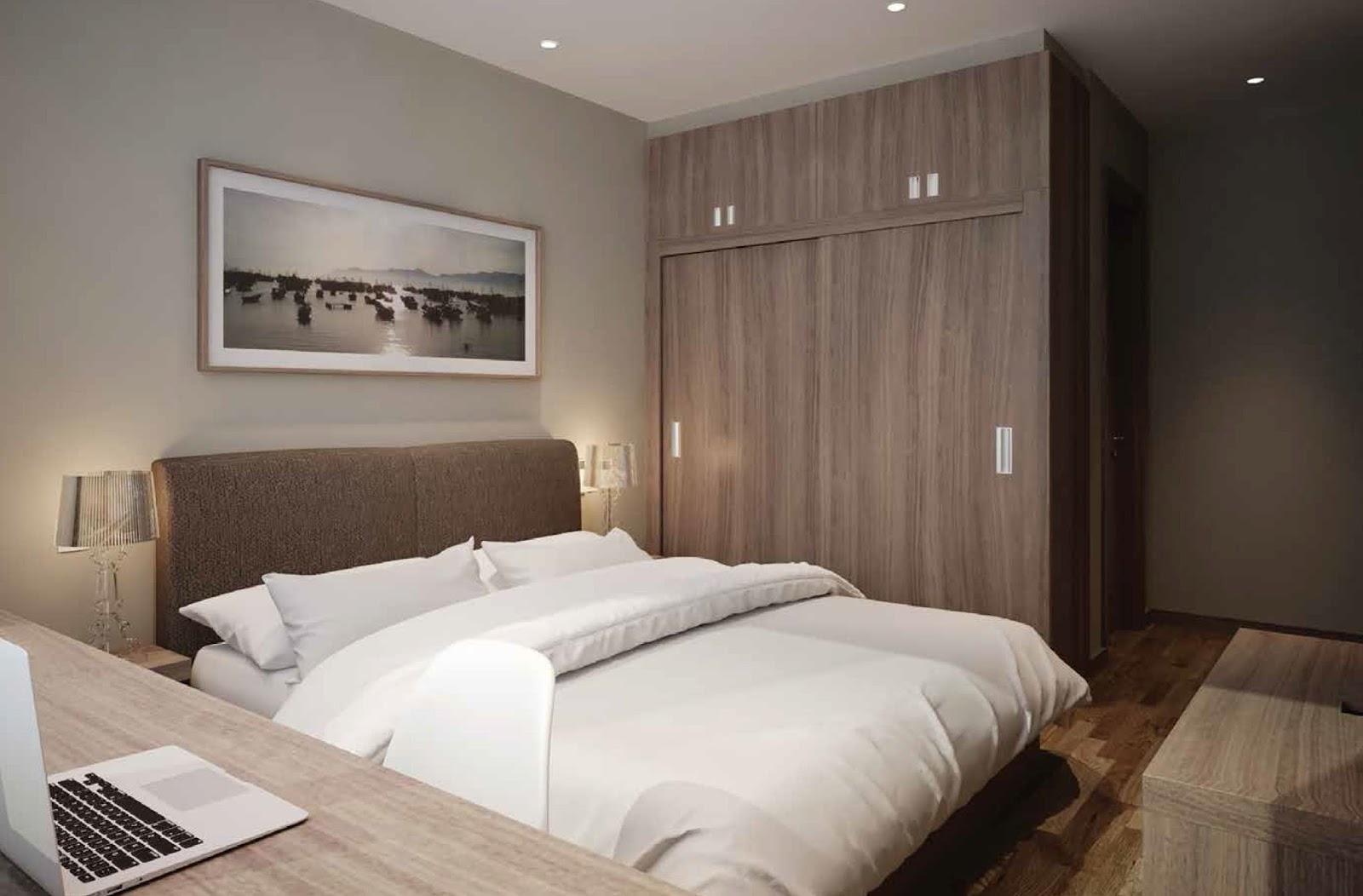 Thiết kế căn hộ 02, 03, 08 và 09 - Chung cư Phú Mỹ Complex