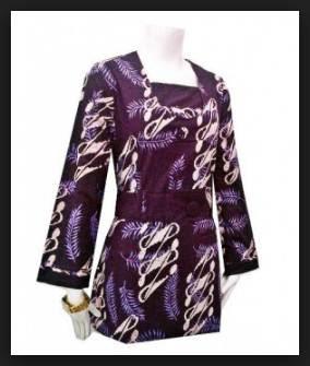 Model baju kerja wanita simpel