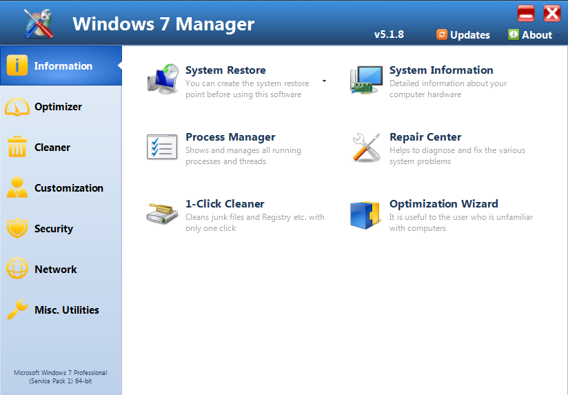 Yamicsoft windows 7 manager v1.2.3 finalkeygen amit