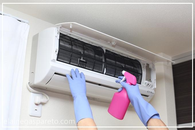 como limpar corretamente o ar condicionado