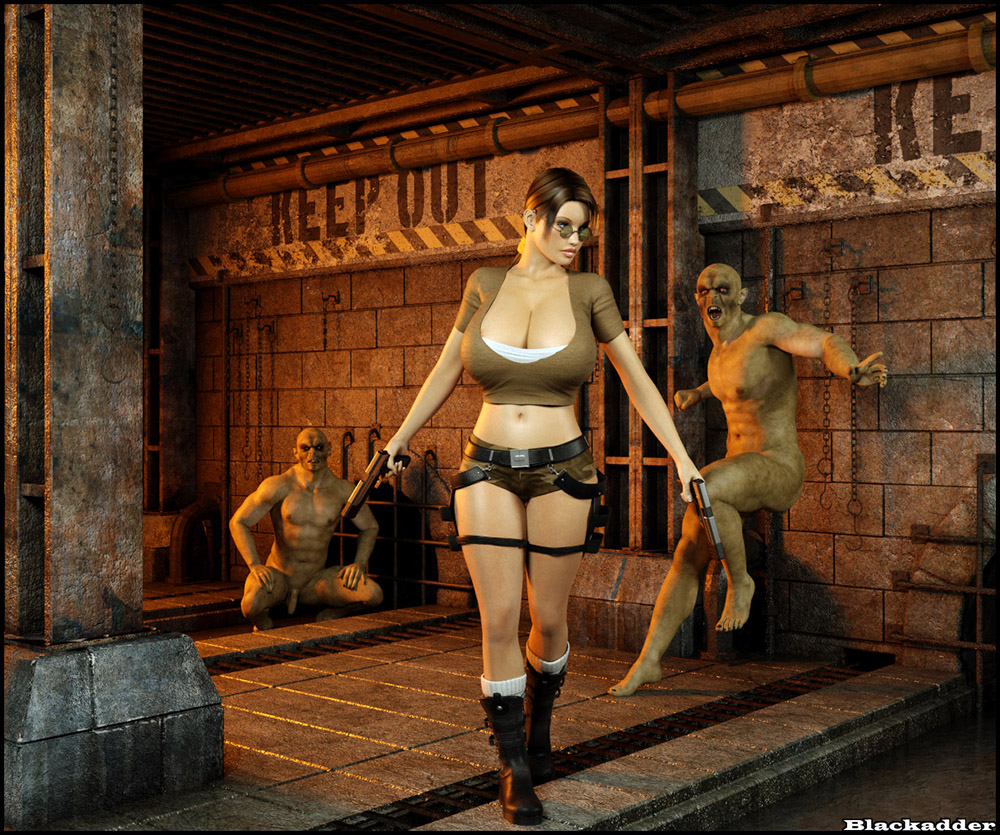 3d lara croft orgy and more tomb raider