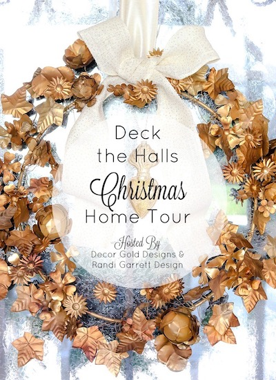 deck the halls christmas home tour-shabbyfufu