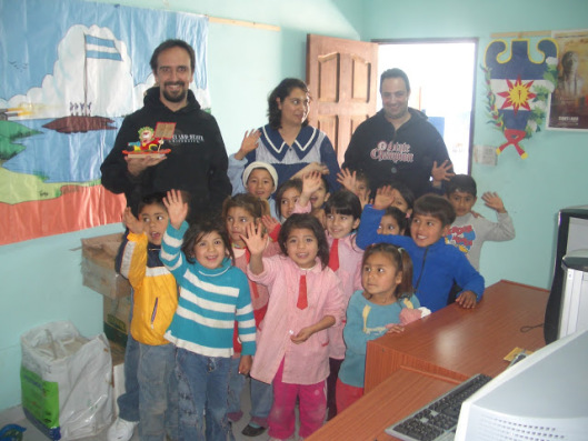 GNU Solidario first project. Santiago del Estero 2006 . (CC BY-SA 4.0 Luis Falcon)
