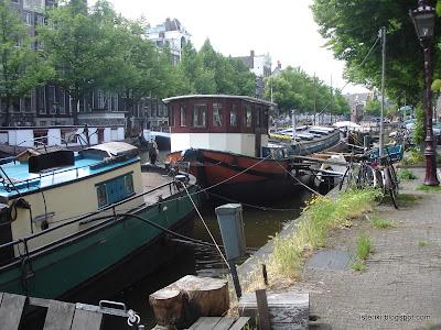 Яхты и велосипеды в Амстердаме