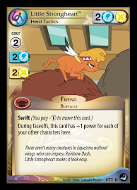 My Little Pony Little Strongheart, Herd Tactics High Magic CCG Card