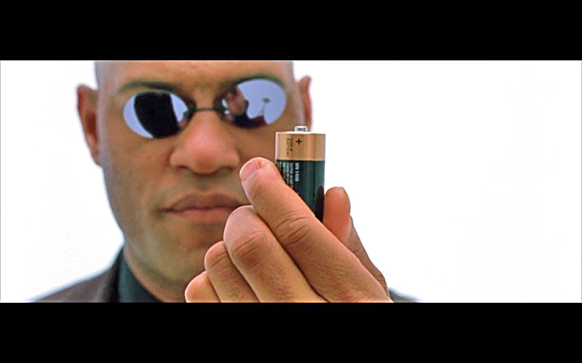 Morpheus explains Neo how Stockholm Central Station's heat exchanger works
