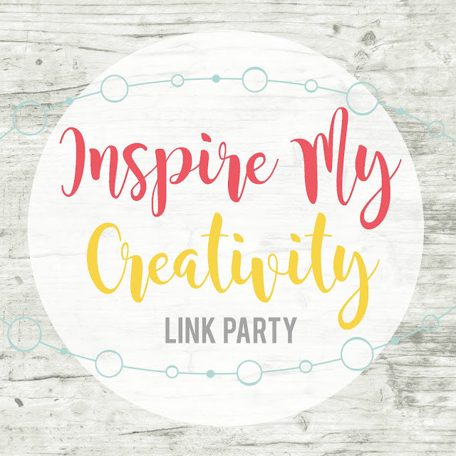 Inspire My Creativity: a fun and unique link up where 12 bloggers share themed projects!  Check it out!