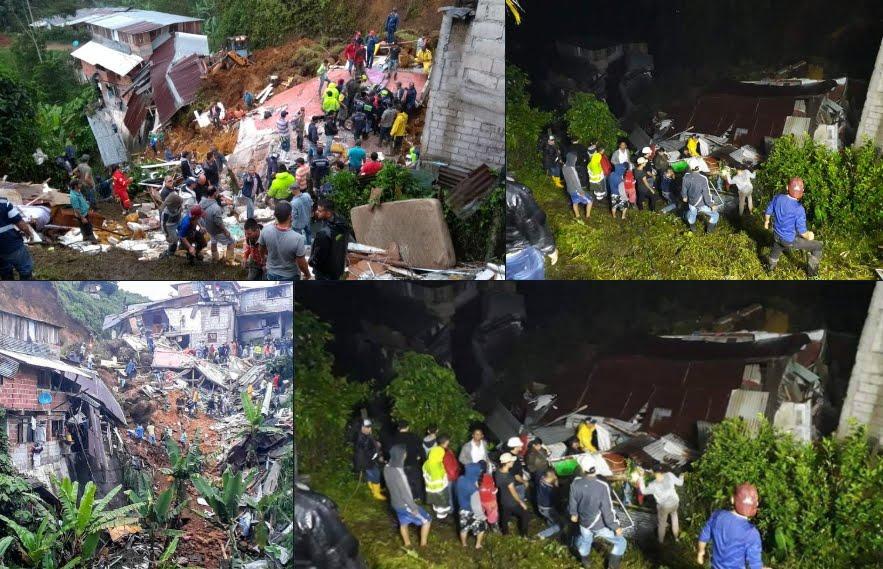 Frane in Colombia e Uganda provocano morte e distruzione.