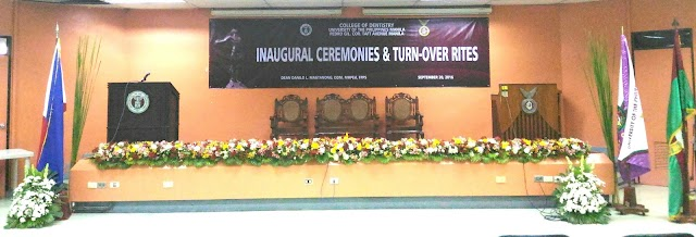 Inaugural Ceremonies and Turn Over Rites