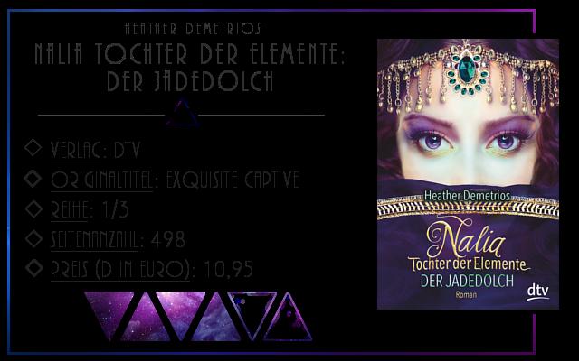 [Rezension] Nalia Tochter der Elemente: Der Jadedolch - Heather Dementrios