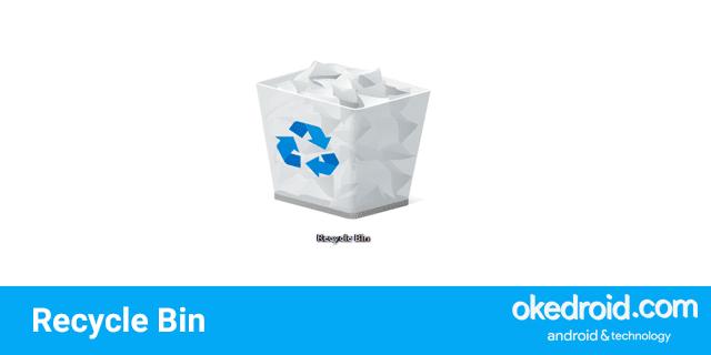 cara menghapus menghilangkan menyembunyikan icon desktop recycle bin walpaper layar windows 10
