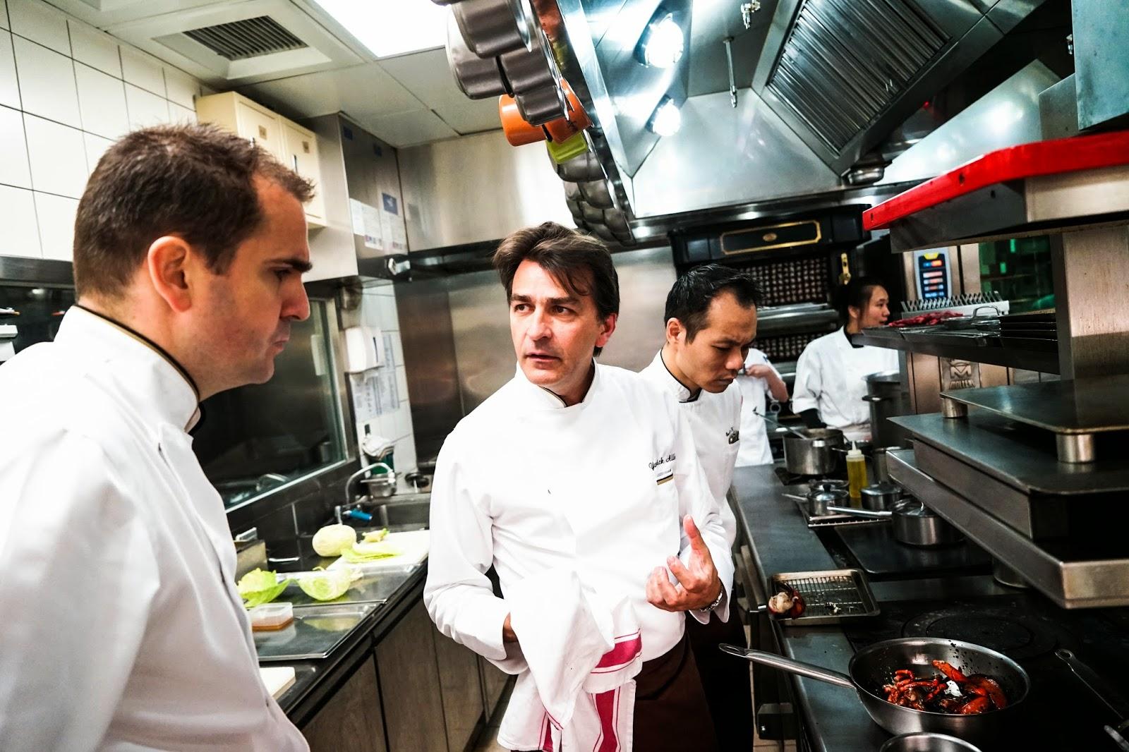 為法國料理再拼一次:專訪Yannick Alléno