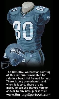 Seattle Seahawks 2007 uniform