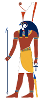 Horus ancient Egypt gods and goddesses cheatsheet