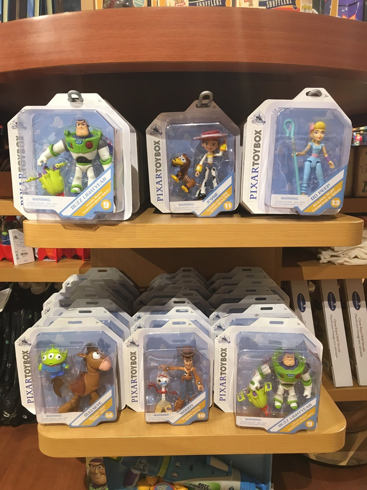 disney store toy story 4 merchandise release day