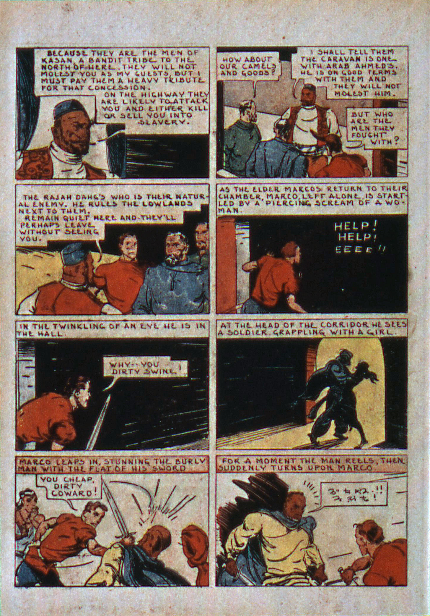 Read online Action Comics (1938) comic -  Issue #6 - 33