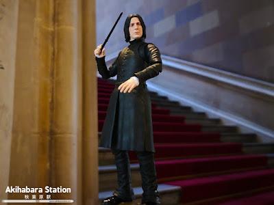 """Figuras: Review del S.H.Figuarts de Severus Snape de """"Harry Potter y la piedra filosofal"""" - Tamashii Nations"""