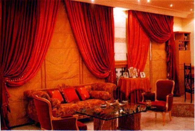 المجموعه الثانيه من احدث وارقى تصميمات الستائر لجميع الاذواق Curtains 2014