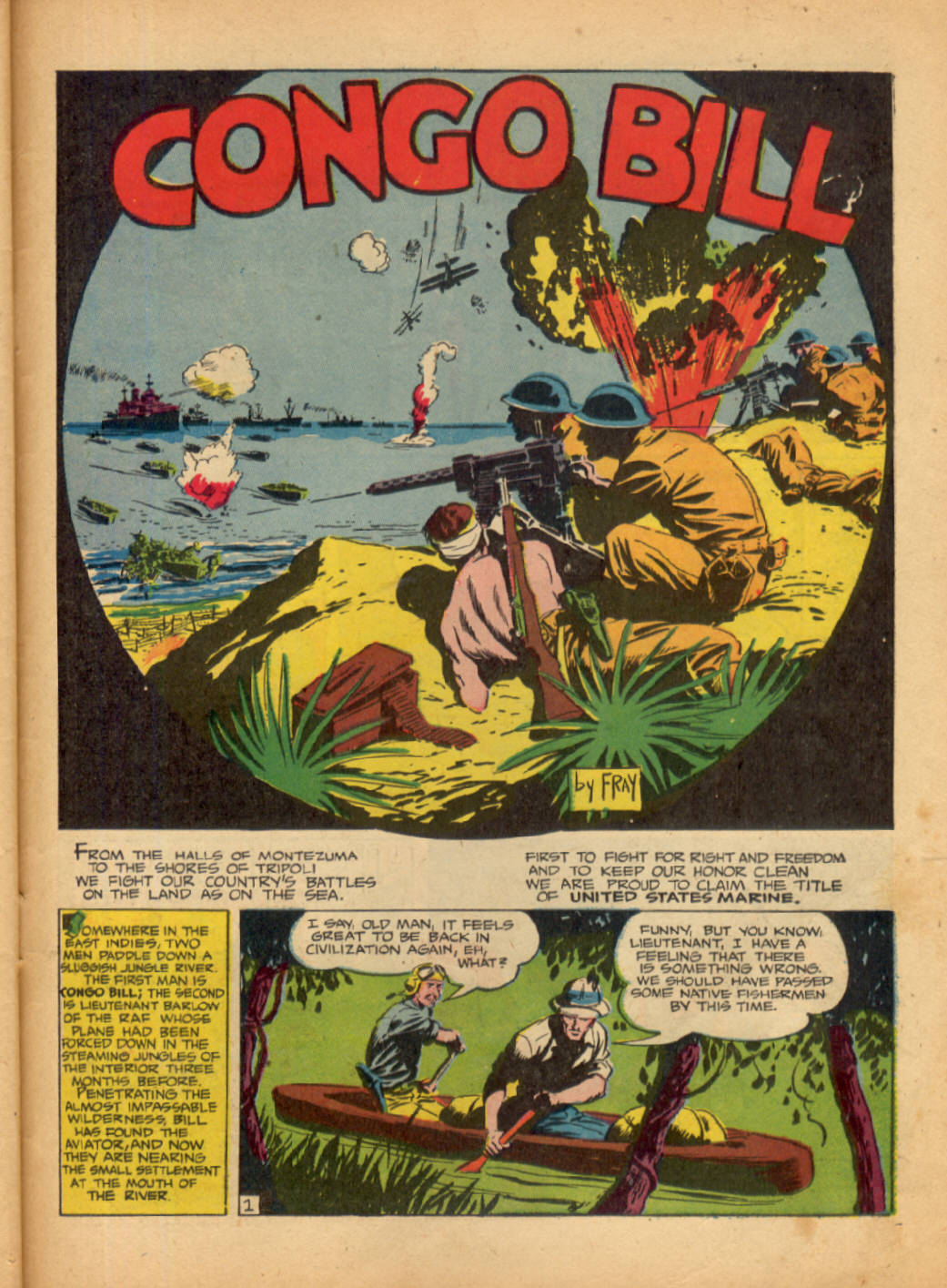 Read online Action Comics (1938) comic -  Issue #48 - 51