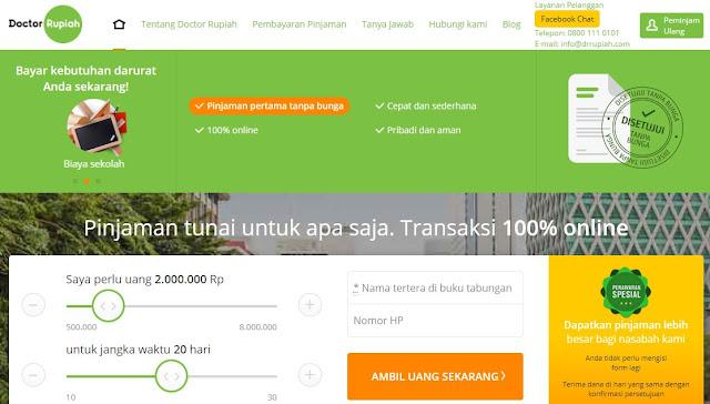 8 Rekomendasi Tempat Pinjaman Uang Secara Online Proses Cepat Cair