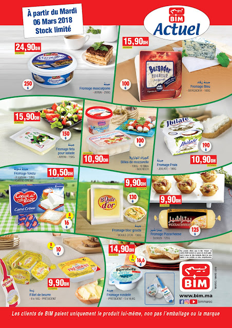 Catalogue bim mardi 6 mars 2018