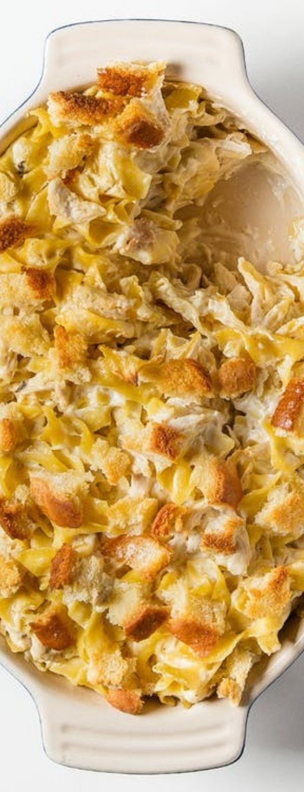 Chicken Casserole with Campbell's Canned Soup #CHICKEN #CASSEROLE #CANNEDSOUP