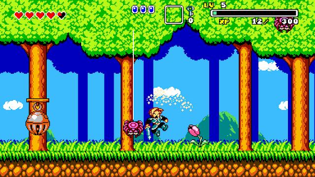 Prueba la demo de Aggelos, un RPG de acción 2D inspirado en grandes como Wonderboy