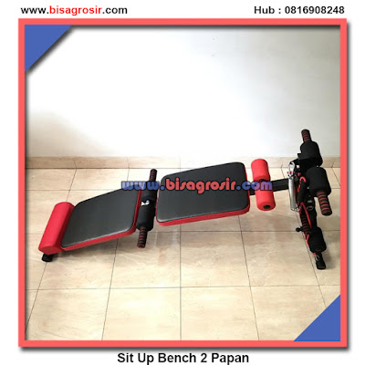 Alat Fitnes 5 Fungsi Sit Up Bench 2 Papan