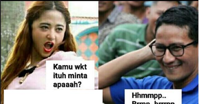 Sandiaga Uno: Ada Politik Sembako di Jakarta Timur